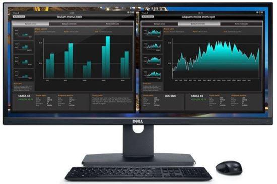 Picture of Dell 43 Ultra HD 4K Multi Client Monitor (P4317Q)