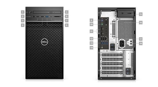 Picture of Precision 3630 Tower Workstation i5-8600