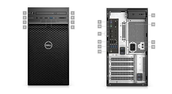 Picture of Precision 3630 Tower Workstation E-2174G