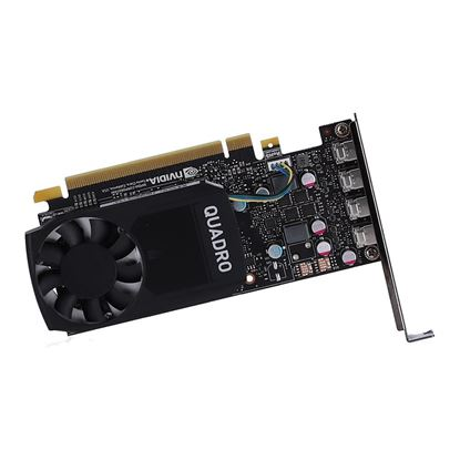 Picture of NVIDIA Quadro P620, 2GB, 4 mDP to DP adapter