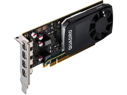 Picture of NVIDIA Quadro P1000 4GB Graphics (1ME01AA)