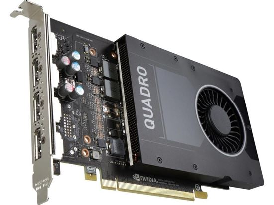 Picture of NVIDIA QUADRO P2200 (5 GB, 4 DisplayPort, PCIe) Graphics