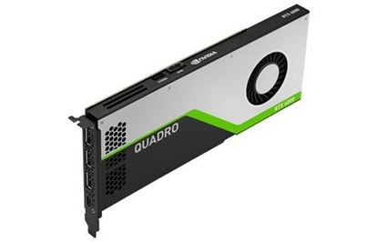 Picture of NVIDIA Quadro RTX 4000 (8 GB GDDR6, 3 x DisplayPort 1.4; 1 VirtualLink ) Graphics