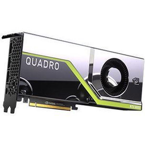 Picture of NVIDIA Quadro RTX 8000 (48 GB GDDR6, 4 x DisplayPort 1.4; 1 Dual link DVI-I) Graphics