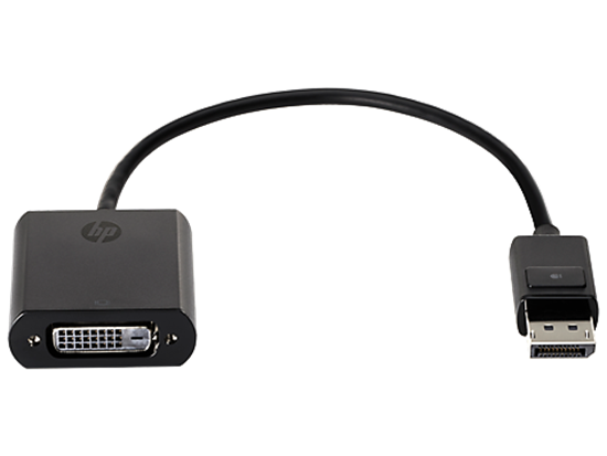 Picture of HP DisplayPort to DVI-D Adapter