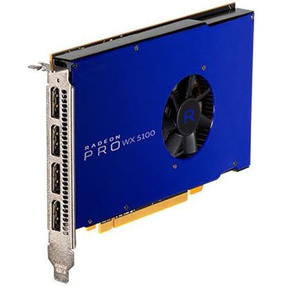 Picture of Radeon Pro WX 5100, 8GB, 4 DP