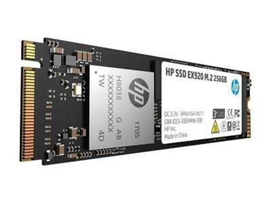 Picture of HP PCIe NVMe TLC 256GB SSD M.2 Drive (1CA51AA)