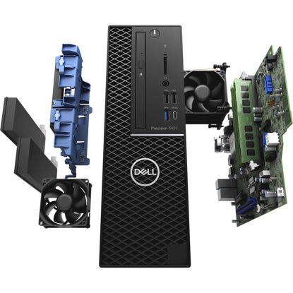 Picture of Dell Precision 3431 SFF Workstation E-2236