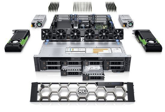Picture of Precision 7920 Rack Workstation Silver 4208