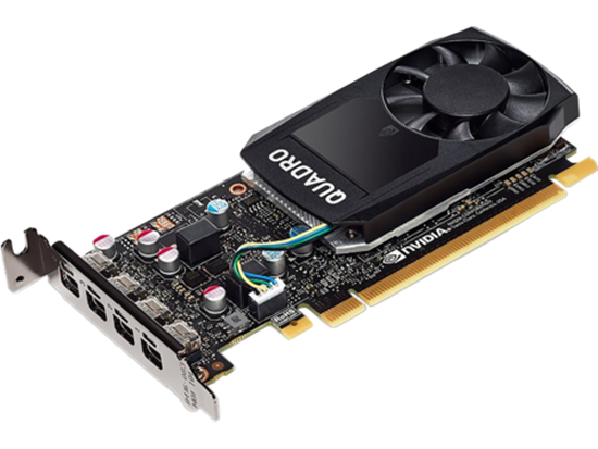 Picture of NVIDIA Quadro P600 (2GB) Graphics Card (1ME42AA)