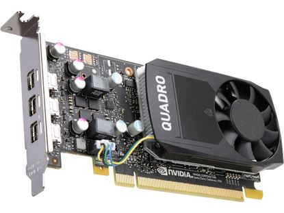 Picture of NVIDIA Quadro P400, 2GB, 3 mDP to DP adapter