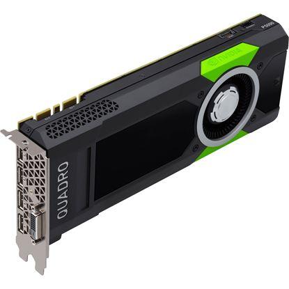 Picture of NVIDIA® Quadro® P5000, 16GB, 4 DP, DL-DVI-D