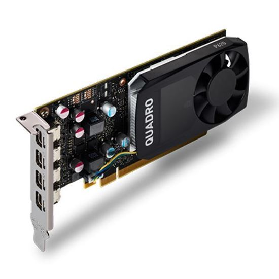Picture of NVIDIA QUADRO P620 (2 GB GDDR5, 4 x Mini Displayport 1.4) Graphics