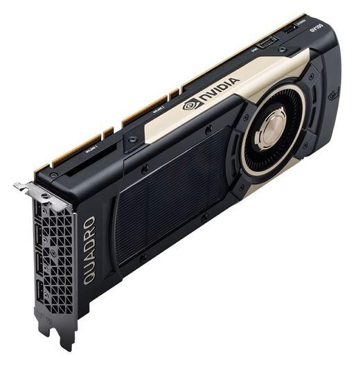Picture of NVIDIA Quadro GV100 (32GB HBM2, 4 x DisplayPort 1.4; 1 Dual link DVI-I, PCIe) Graphics