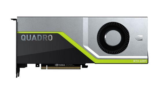 Picture of NVIDIA Quadro RTX 6000 (24 GB GDDR6, 4 x DisplayPort 1.4; 1 Dual link DVI-I) Graphics