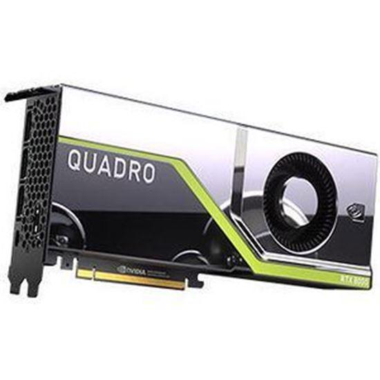 Picture of NVIDIA Quadro RTX 8000 (48 GB GDDR6, 4 x DisplayPort 1.4; 1 Dual link DVI-I) Graphics