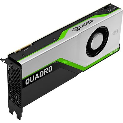 Picture of NVIDIA Quadro RTX 5000 (16 GB GDDR6, 4 x DisplayPort 1.4; USB-C) Graphics