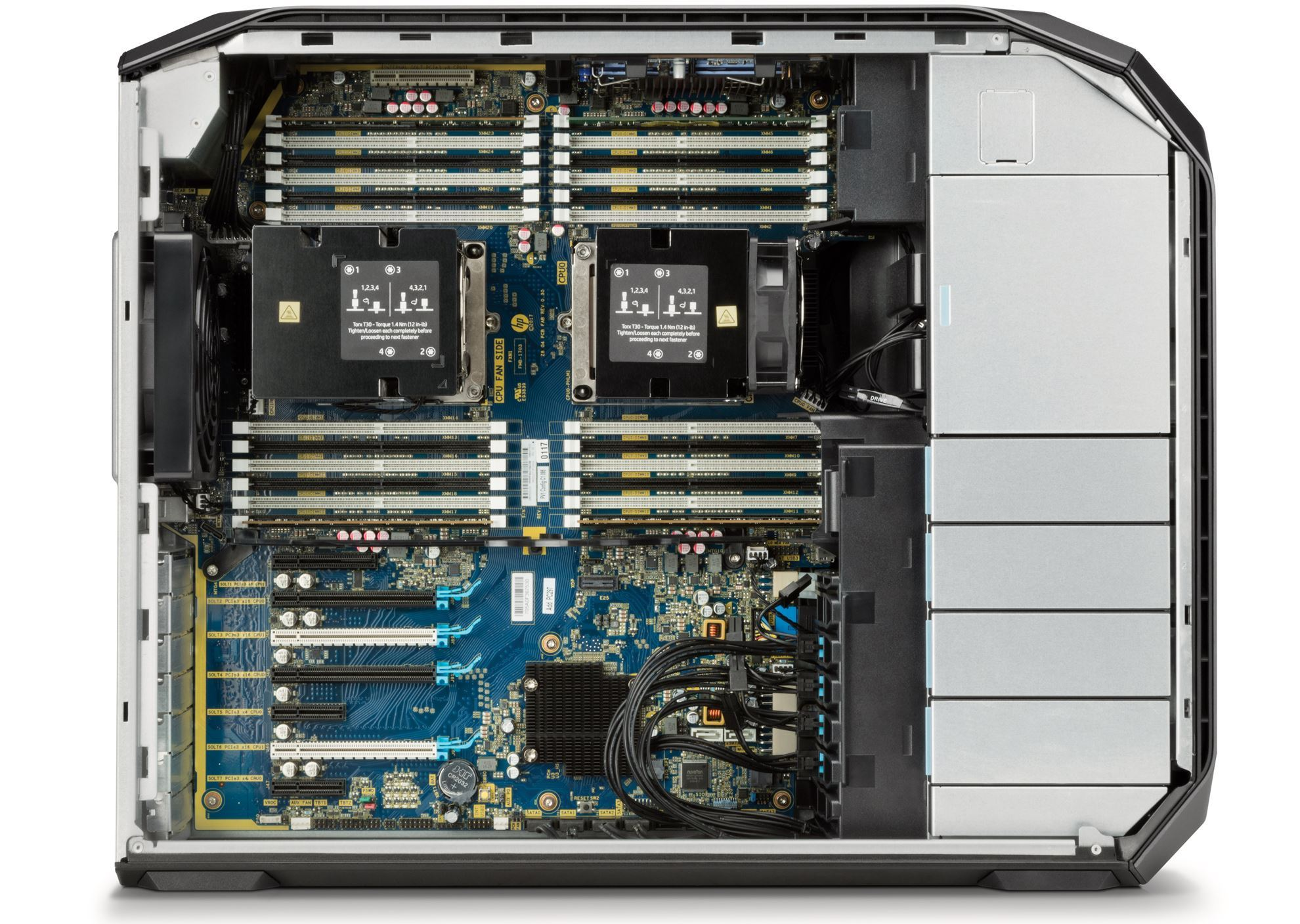 Picture of HP Z8 G4 Workstation Silver 4216