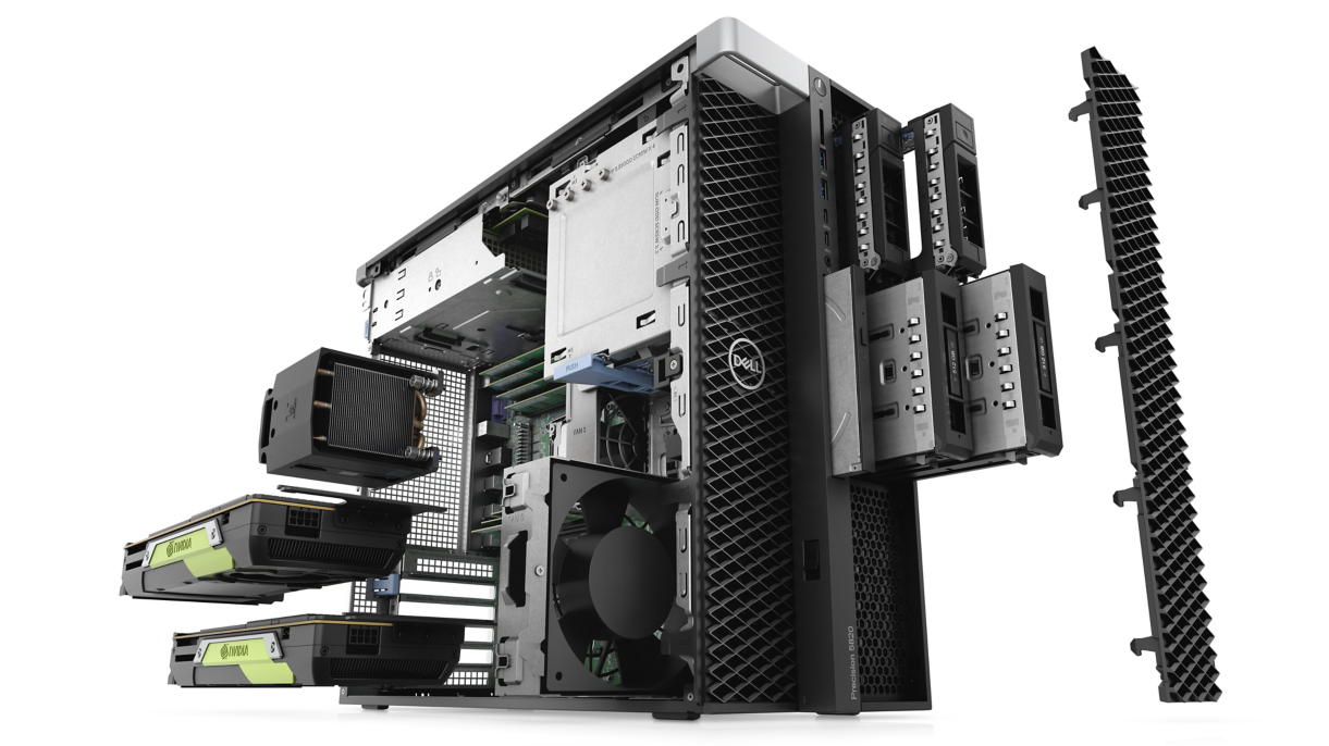 Picture of Dell Precision 5820 Tower Workstation W-2123