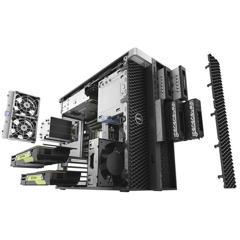 Picture of Dell Precision 7820 Tower Workstation Silver 4214