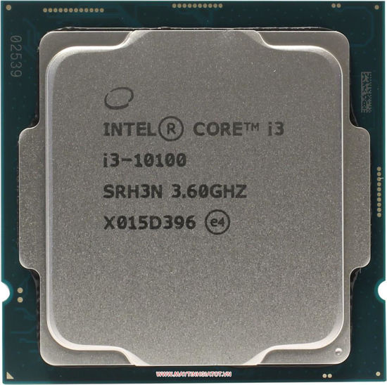 Picture of Intel Core i3-10100 (4 Core, 6M cache, base 3.6GHz, up to 4.3GHz) DDR4-2666